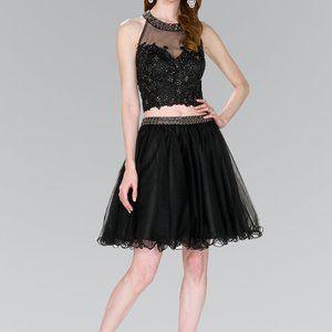 Two Piece A-Line Shape Prom Dress GS2398